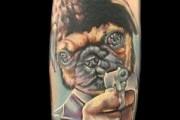 Pug Tattoo Story – Who needs Pulp Fiction when you have Pug Fiction?