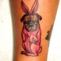 Helga Bunny - Tattooed by Kapten Hanna at Idle Hand Tattoo in SanFrancisco, USA