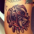 Awesome tattoo on the awesome Natalia Barbin - Tattooed by Ronnie Isaksson