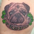 Frodo the Pug - Tattooed by Patrick Adams at Underworld Ink