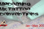 'New Year, New Pug Tattoo' Upcoming UK Tattoo Conventions: Jan – May 2013