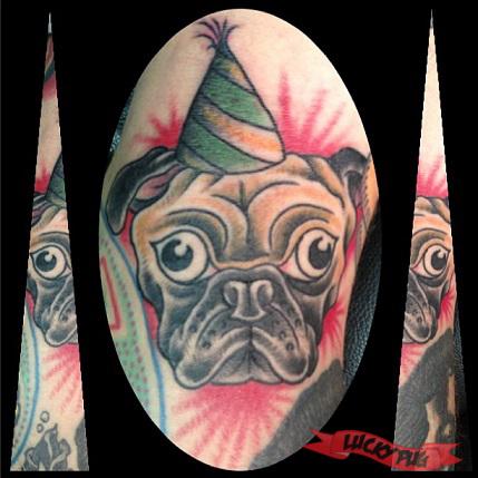 Pug tattoos on legs pug tattoo picture gallery tattoo for Tattoo corpus christi