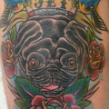 Jet the Pug - Tattooed by Bryn Taylor of Sugarfoot Tattoo, San Mateo
