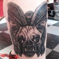 Puggoyle - by Shannon Daley of Shakey's Deluxe Tattoos, USA