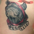 Pug Life - Artist: Bee Crosby at Slicked Styled Steel, Canada