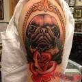 Luke the Pug - Tattooed by Matt Beacham
