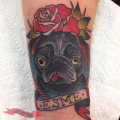 Artist: Clifton Boggs of Eulogy Tattoo in Canton, Ohio, USA