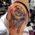 LaLuge the Pug - Artist: Emily Effler at Sacred Heart, Atlanta - IG @emilyeffler