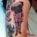 ArtistL Tony Torvis of MTL Tattoo, Montreal, Canada