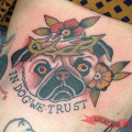 In Dog We Trust -Tattooed by Roberto Poliri
