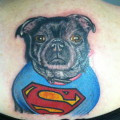 Memorial Tattoo of Tucker - Tattooed by Kayden Digiovanni in Addison Texas, USA