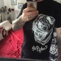 Pug Screams Tee (Black) - Bert from Birmingham, UK
