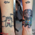 Cover up tattoo - Studio: Amazing Tattoo Workshop, Hong Kong