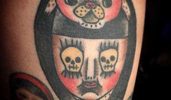 leg-pug-tattoo-on-aura-silva-by-itoyo-kinoshita