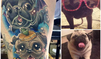 leg-pug-tattoo-on-chelsey-mac-watts-by-julie-bauschardt-at-d-n-m-tattoo-canada