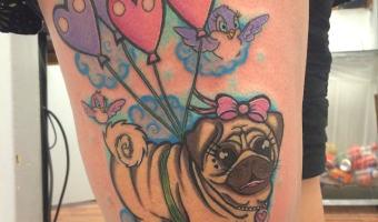 leg-pug-tattoo-by-mona-andersen-of-irn-and-ink-in-copenhagen-denmark
