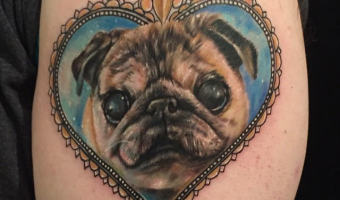 rip-myrtle-turtle-arm-pug-tattoo-of-zane-hollingsworth-by-josh-schuver-of-artistic-edge-tattoo-in-rome-ga