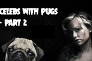 Celebrities with Pugs – Part 2 (with Pics)