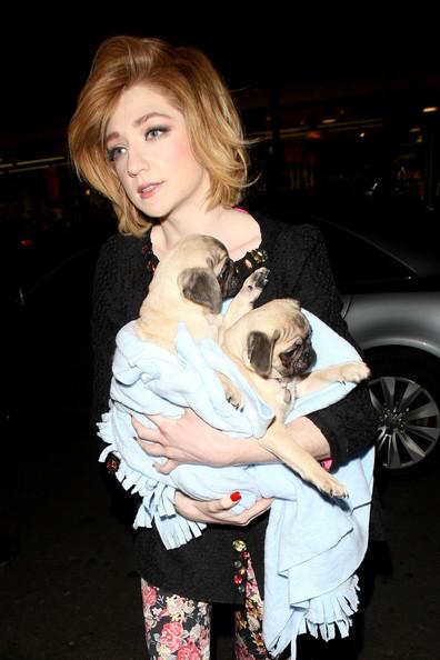 nicola-roberts-girls-aloud-pugs-ronnie-reggie