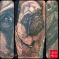 Otis the Pug - studio: Pepper Unify Tattoo Co St Augustine, FL