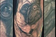 Pug Tattoo Story – In Memory of Otis the Pug