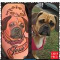 Puggle Tattoo on @ddnnmommie