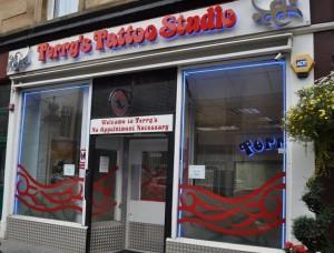 Terrys-Tattoo-Studio-Glasgow-Scotland-UK-300x228