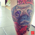 Dallas the Pug Tattoo