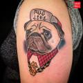 Artist: Ayako of MTL Tattoo
