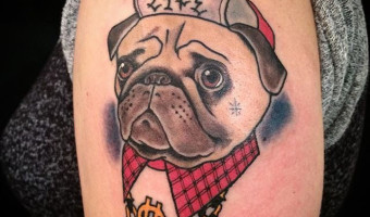 arm-pug-tattoo-by-ayako-of-mtl- tattoo