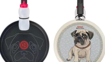 asda pug pancake frying pan cover image