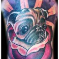 Tattooed by Robert Kidd at (Chester Benington's - Linkin Park) Club Tattoo in Las Vegas, USA