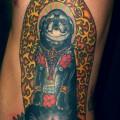 Pug Buddha - Tattooed by Marcus at Full Circle Tattoo