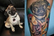 Pug Tattoo Story – Jessica's Very Own Lucky Pug