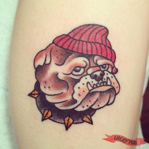 French Bulldog Tattoos | Boxer, Boston Terrier & British English ...