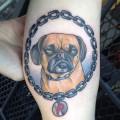 Phillis The Puggle - Tattoo by Kapten Hanna at Idle Hand Tattoo