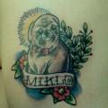 'MIKLO' - Tattooed by @robthewolf