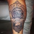 Tattooed by Tyler Bloomingdale of Black Anvil Tattoo