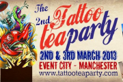 English Tea Party with a Twist (of Tattoo) – March 2013