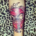 Daruma Pug - Tattooed by Alvaro Contreras