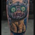 Alien Pug - Tattooed by Chad Chase at Venom Ink Tattoo