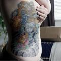 Pug Karajishi - Tattooed by Ishmael Johnson of Scrimshaw Tattoo, Fort Collins, CO