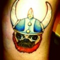 Viking Pug - Tattooed by Jessi Cramer at Jesters Court in Pennsylvania