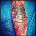 WILMA the Pug -  Tattooed by Luke Macmillan at The Ink Garage, Perth, WA