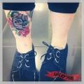 Tattooed by Holly Tunnicliffe of Pierce of Art Tattoo Studio