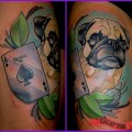 Remy the Pug - Tattooed by Craig Foster at Skinwerks Tattoo