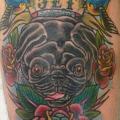 Jet the Pug - Tattooed by Bryn Taylor of Sugarfoot Tattoo, San Mateo