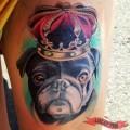 Royal Pug - Tattooed by Susannah Griggs of Eternal Tattoos