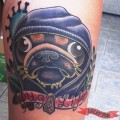 Pug Life - Tattooed by James Connolly, Tampa, USA