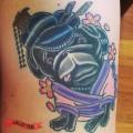 Geisha Pug- Tattooed by Kris James at Work of Skin